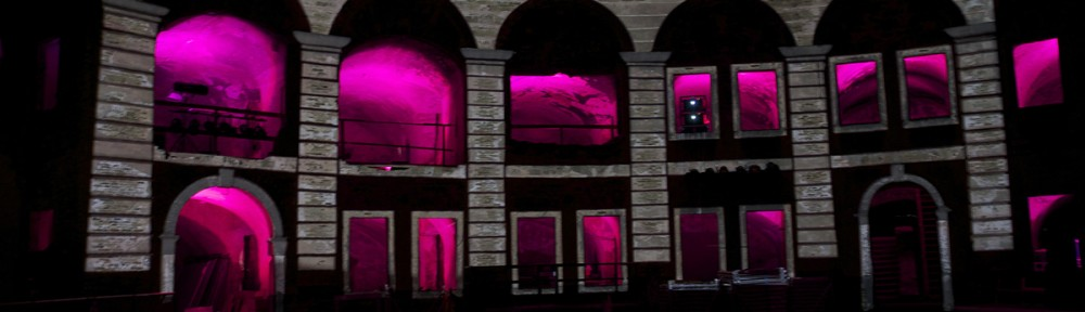 Projection Mapping, Fort Asterstein in Koblenz